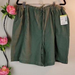 Laura Scott Green shorts 3X